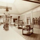 Exhibition photograph - room of vocational schools in the Hungarian Pavilion, Milan Universal Exposition, 1906
