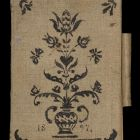 Sketch book - with Hungarian ornaments