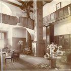 Interior photograph - hall in the Lederer Villa (Kmetty street 31.)
