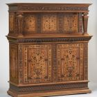 Two-storey cabinet - so called Überbauschrank
