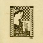 Ex-libris (bookplate) - Rezső Karkas