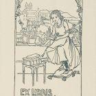 Ex-libris (bookplate) - Artúr Káldor