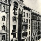 Architectural photograph - facade of the Bedő-house (Honvéd str. 3.)