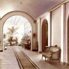 Interior photograph - salon of the Ernst Museum