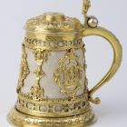 Tankard with cover
