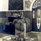 Interior photograph - fountain in the hall of the Schiffer Villa