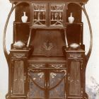 Exhibition photograph - sideboard, Christmas Exhibition of the Museum of Applied Arts 1899