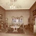 Exhibition photograph - dining room, Christmas Exhibition of The Association of Applied Arts 1900