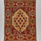 Transylvanian rug - with rosette garland