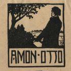 Ex-libris (bookplate) - Otto Amon
