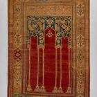 Prayer (niche) rug - containing six columns