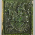 Stove tile - depicting an equestrian