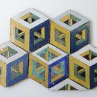 Floor tiles - so called Leonardo tiles