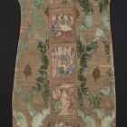 Back of a chasuble - with scenes from the life of Jesus