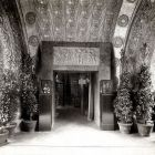 Interior photograph - detail of the entrance hall, Hungarian Pavilion in Venice