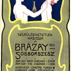 Poster design - Brázay French brandy (Franzbranntwein)