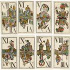 Playing card - Tarot card with mythological figures