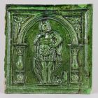 Stove tile - with the figure of King David
