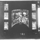 Exhibition photograph - stained-glass window, Christmas Exhibition of The Association of Applied Arts 1902