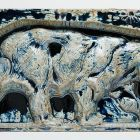 Architectural ceramics - frieze element depicting a bear (from the Bigot-pavilion)
