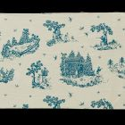 Fabric - with scene from the life of Saint Hubertus