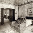 Interior photograph - bedroom in the Pálffy Palace in Pozsony