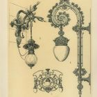 Design sheet - design for lamps