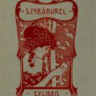 Ex-libris (bookplate) - Aurél Szabó
