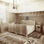 Exhibition photograph - bedroom, Spring Exhibition of The Association of Applied Arts 1907