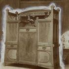 Exhibition photograph - cupboard, Paris Universal Exposition 1900