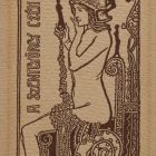 Ex-libris (bookplate) - Saint George guild