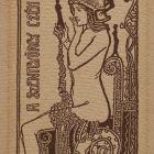 Ex-libris (bookplate) - Saint George guild