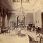 Interior photograph - grand salon in Géza Batthyány's Palace (Teréz boulevard 13.)