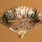 Fan - with the scene Telemaque in the Isle of Calypso