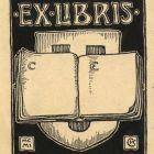 Ex-libris (bookplate) - CE (Elemér Czakó)