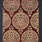 Back of a chasuble - tailored from a Turkish velvet blanket