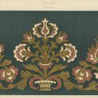 Design sheet - design for applicated decoration