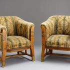 Armchair - part of a parlor interior