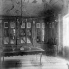Exhibition photograph - the so called 'Sümeg Library Room' in the standing exhibition of the Museum of Applied Arts