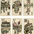 Playing card - Tarot depicting the battles of the Napoleon wars