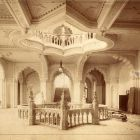 Interior photograph - first floor vestibul, Museum of Applied Arts