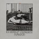 Ex-libris (bookplate) - Nándor Gyöngyösi