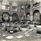 Exhibition photograph - Floral Budapest - Floral Hungary' --exhibition in the Museum of Applied Arts 1929