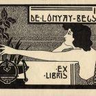 Ex-libris (bookplate) - Ida Lónyay-Becsky