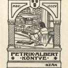 Ex-libris (bookplate) - Albert Petrik