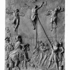 Relief - Calvary (after the Ark of Convenant in Győr)
