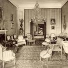 Interior photograph - mirror salon in the Pálffy Palace of Királyfa