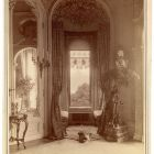 Interior photograph - window bay of the salon in the Emmer Palace, Buda