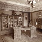 Exhibition photograph - drawing room, Exhibition of Interior Design 1912