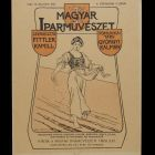 Coverpage - for the periodical Magyar Iparművészet (Hungarian Applied Arts) (1902/2. sz.)
